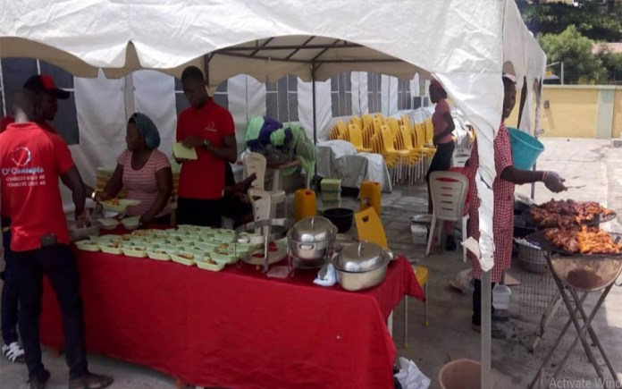 O Event Concept, O'Concept snacks, 12 Basket, Snack business in Nigeria