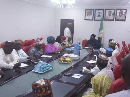 Peak Milk meeting with Niger State Government