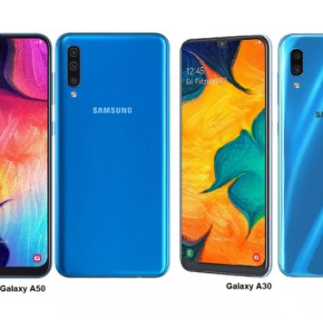 Samsung Galaxy A30 and A50