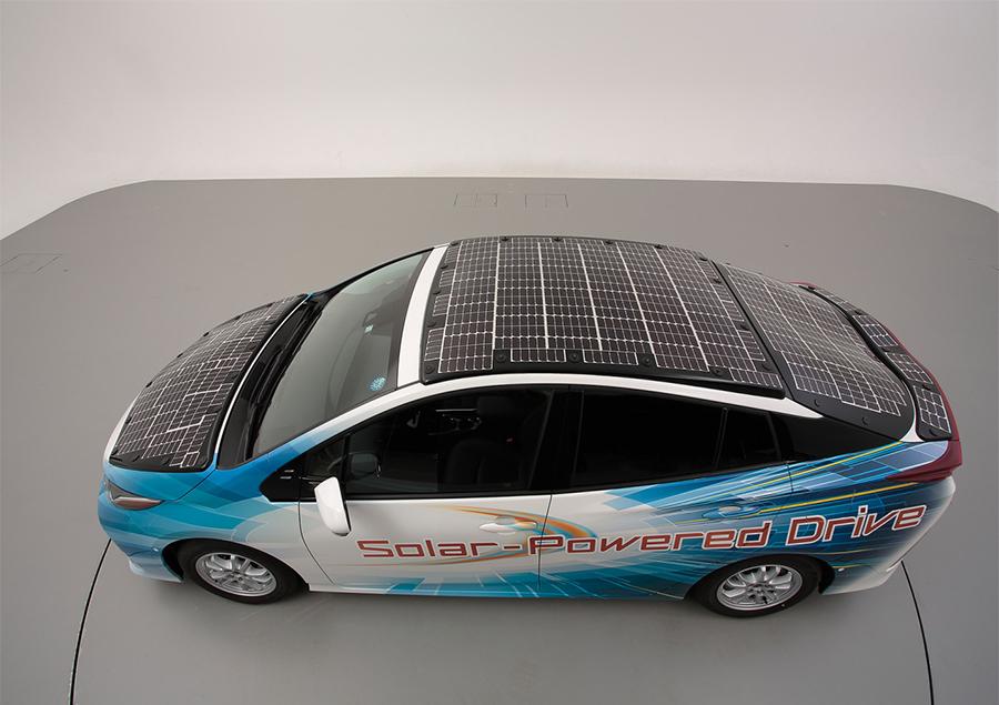 Toyota Electric car market, Electric car companies, Toyota solar electric cars