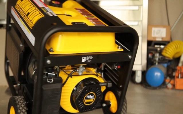 Fueling generators