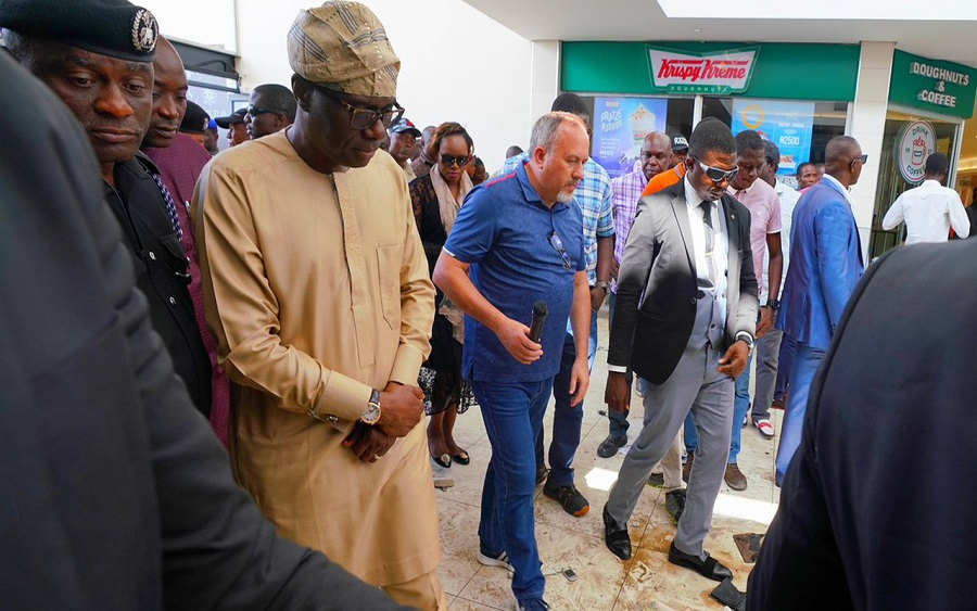 Xenophobic attack: 5000 people lost their jobs to shopping mall attacks - Governor Sanwo-Olu