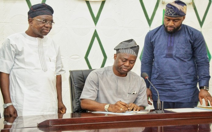 Oyo State Government reduces budget by N103 billion; Here's why