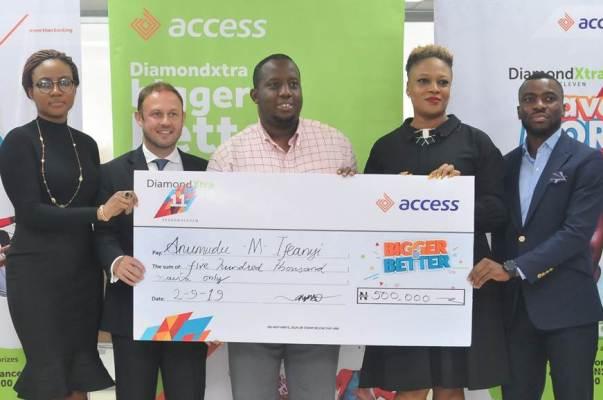 Access Bank: Trader, 1,015 others win big in DiamondXtra Season 11