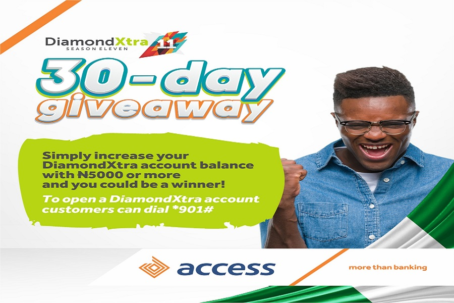 Access Bank Unveils Independence Campaign, set to Splash Cash Prizes on over 30 DiamondXtra Customers Daily