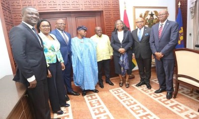 FBNHoldings, FBNBank Ghana call on Prez Akufo-Addo