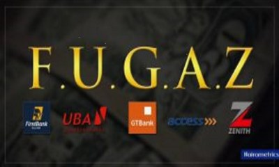 FUGAZ Banks, loans, loan, Access, Zenith, GTBank, top actively traded stocks on Monday , FUGAZ lead actively traded stocks as bourse ups 1.7%, Nigeria's top 5 banks spent more than N40 billion on adverts in 2019
