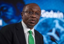 CBN OMO ban could give stocks a much-needed boost , CBN's N132.56 billion T-bills auction records oversubscription by 327% , Nigeria pays $1.09 billion to service external debt in 9 months , Implications of the new CBN stance on treasury bill sale to individuals, Digital technology and blockchain altering conventional banking models - Emefiele  , Increasing food prices might erase chances of CBN cutting interest rate   , Customer complaint against excess/unauthorized charges hits 1, 612 - CBN , CBN moves to reduce cassava derivatives import worth $600 million  , Invest in infrastructural development - CBN Governor admonishes investors , Credit to government declines, as Credit to private sector hits N25.8 trillion, CBN sets N10 billion minimum capital for Mortgage firms, CBN sets N10 billion minimum capital for Mortgage firms , Why you should be worried about the latest drop in external reserves, CBN, Alert: CBN issues N847.4 billion treasury bills for Q1 2020 , PMI: Nigeria's manufacturing sector gains momentum in November, CBN warns high foreign credits could collapse Nigeria's economy, predicts high poverty, CBN, Bankers Committee move to revive National Theatre with N25 billion