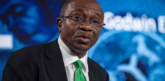 CBN OMO ban could give stocks a much-needed boost , CBN's N132.56 billion T-bills auction records oversubscription by 327% , Nigeria pays $1.09 billion to service external debt in 9 months , Implications of the new CBN stance on treasury bill sale to individuals, Digital technology and blockchain altering conventional banking models - Emefiele  , Increasing food prices might erase chances of CBN cutting interest rate   , Customer complaint against excess/unauthorized charges hits 1, 612 - CBN , CBN moves to reduce cassava derivatives import worth $600 million  , Invest in infrastructural development - CBN Governor admonishes investors , Credit to government declines, as Credit to private sector hits N25.8 trillion, CBN sets N10 billion minimum capital for Mortgage firms, CBN sets N10 billion minimum capital for Mortgage firms , Why you should be worried about the latest drop in external reserves, CBN, Alert: CBN issues N847.4 billion treasury bills for Q1 2020 , PMI: Nigeria's manufacturing sector gains momentum in November, CBN warns high foreign credits could collapse Nigeria's economy, predicts high poverty, CBN, Bankers Committee move to revive National Theatre with N25 billion , Nigeria's 3.46 trillion fiscal deficit a source of concern – MPC Member , CBN says Nigerian banks assets and liabilities is now at N41.42 trillion , BVN: CBN to link 100 million banks accounts through proactive means, Foreign reserves drops $4.45 billion, edges closer to $30 billion devaluation benchmark, Payment system framework: CBN provides guidelines to address systemic risk, others, CBN retains Loan to Deposit Ratio at 65% as against increment to 70% , Federal High Court could jail Emefiele over $53 million judgment debt, CBN strongly denies establishing a poultry farm to support its monetary policies, Analysts explain when, why CBN could devalue naira by 5-10%, Banking: Surprise hike in CRR-Implications for banks, Agriculture: Suing ABP beneficiaries; A wild goose chase? , CBN lists major constraints affecting businesses, as borrowing rates projected to rise, CBN's N287.8 billion T-bills auction records oversubscription, as rates fall marginally, CBN to give Niger Delta rice farmers single-digit loan , Naira and exchange rates, Insufficient electricity, unfavourable economy are among challenges hindering companies –CBN, Banks: Microfinance banks in Nigeria, REMINDER: Nationwide implementation of cashless policy starts April 1st, RESCUE MISSION: CBN coordinates banks, other financial institutions, to raise N1.5 trillion for infrastructure, Banking: Another wave of consolidation?, CBN pays $4.45 billion external debt obligation to World Bank, others in 2-month