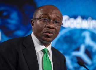 CBN OMO ban could give stocks a much-needed boost , CBN's N132.56 billion T-bills auction records oversubscription by 327% , Nigeria pays $1.09 billion to service external debt in 9 months , Implications of the new CBN stance on treasury bill sale to individuals, Digital technology and blockchain altering conventional banking models - Emefiele  , Increasing food prices might erase chances of CBN cutting interest rate   , Customer complaint against excess/unauthorized charges hits 1, 612 - CBN , CBN moves to reduce cassava derivatives import worth $600 million  , Invest in infrastructural development - CBN Governor admonishes investors , Credit to government declines, as Credit to private sector hits N25.8 trillion, CBN sets N10 billion minimum capital for Mortgage firms, CBN sets N10 billion minimum capital for Mortgage firms , Why you should be worried about the latest drop in external reserves, CBN, Alert: CBN issues N847.4 billion treasury bills for Q1 2020 , PMI: Nigeria's manufacturing sector gains momentum in November, CBN warns high foreign credits could collapse Nigeria's economy, predicts high poverty, CBN, Bankers Committee move to revive National Theatre with N25 billion , Nigeria's 3.46 trillion fiscal deficit a source of concern – MPC Member , CBN says Nigerian banks assets and liabilities is now at N41.42 trillion , BVN: CBN to link 100 million banks accounts through proactive means, Foreign reserves drops $4.45 billion, edges closer to $30 billion devaluation benchmark, Payment system framework: CBN provides guidelines to address systemic risk, others, CBN retains Loan to Deposit Ratio at 65% as against increment to 70% , Federal High Court could jail Emefiele over $53 million judgment debt, CBN strongly denies establishing a poultry farm to support its monetary policies, Analysts explain when, why CBN could devalue naira by 5-10%