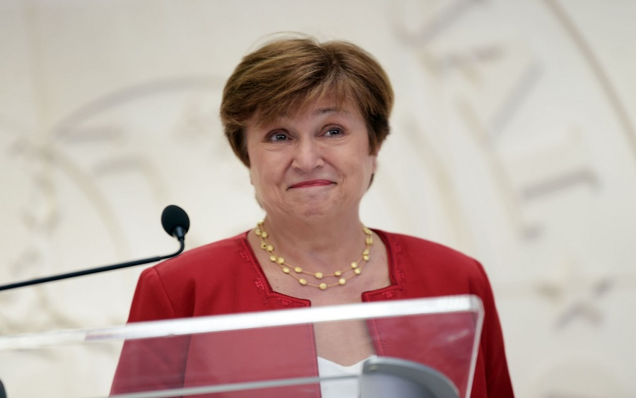 International Monetary Fund chief Kristalina Georgieva calls for reversing tariffs threatening global growth