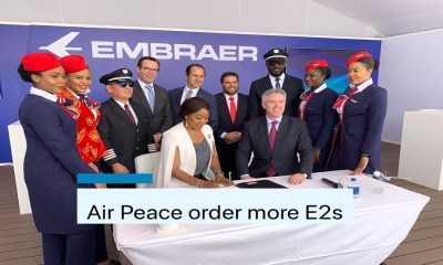 Air Peace signs deal with Brazillian aerospace company