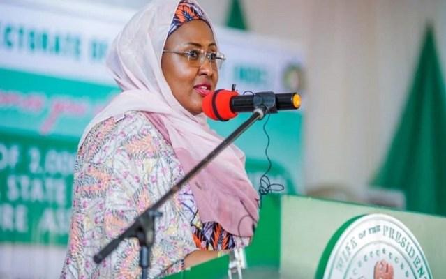 """Nigerians knock Aisha Buhari over comments on """"Social Media Bill"""""""