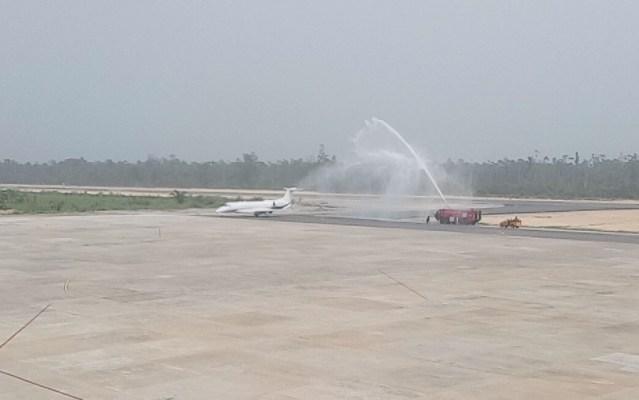 Bayelsa Airport will not be submerged - Dickson replies Oshiomhole