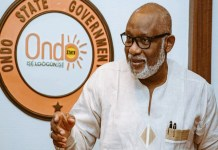 Spanish firm to meet Akeredolu over Ondo deep seaport project