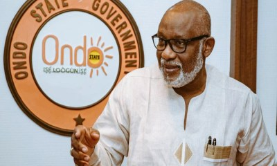 Fire destroys Smart Card Readers at INEC, Akure ahead of gubernatorial election, Spanish firm to meet Akeredolu over Ondo deep seaport project , Toll gate to be constructed along Akure-Ado road, Akeredolu says,