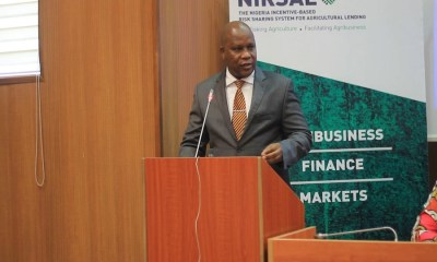 400,000 people benefit from NIRSAL scheme , NIRSAL pledges funding support for farmers, NIRSAL explains why it is not yet disbursing N50b CBN facility