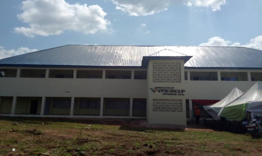 VFD donates administrative block, education materials to Anambra schools
