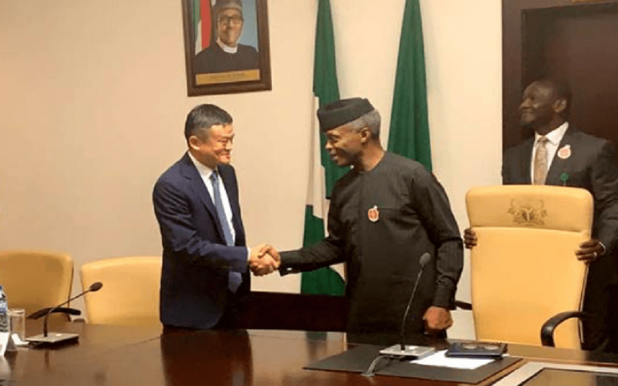 Osinbajo receives Jack Ma, other Chinese investors in Abuja