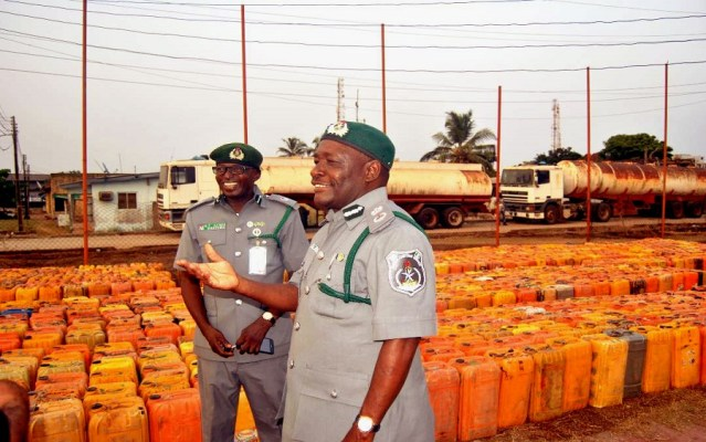 Over 60,000litresof petrol seized from smugglers – Customs