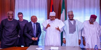 After settling dispute with FG, MTN Group's Chairman pays President Buhari a visit