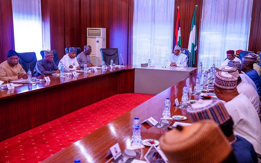 Buhari meets Economic Advisory Council, addresses economic concerns, Economy: EAC's first meeting with the President