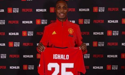 Ighalo to earn N1.4 billion in six months at Manchester United