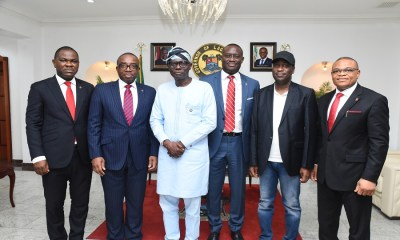 Zenith Bank commiserates with Sanwo-Olu on Abule-Ado explosion, donates N100 million support to Emergency Relief Fund