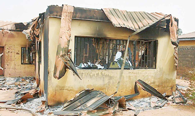 INEC headquarters gutted by fire