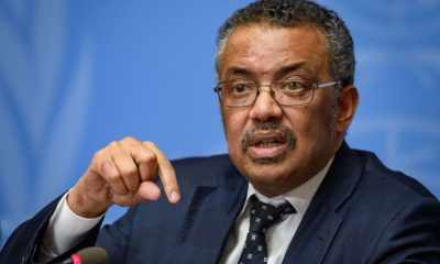 Dr Tedros Adhanom, Head of the World health organization (WHO), COVID-19