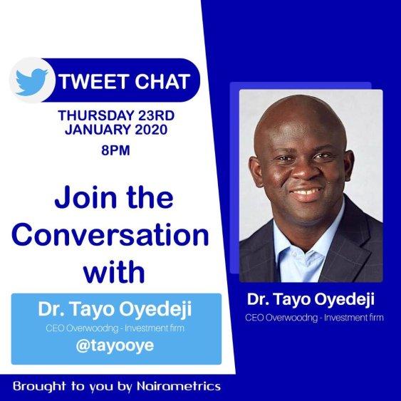 Dr Tayo Oyedeji