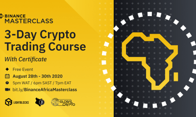 Interested in Crypto trading? Attend the Binance 3-Day Crypto Trading Masterclass