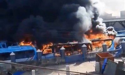 #EndSARS Protest: 80 BRT buses worth N3.9 billion were destroyed by hoodlums - LASG