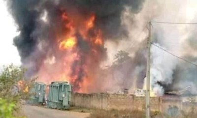 Inferno raze down SUBEB office in Ondo state
