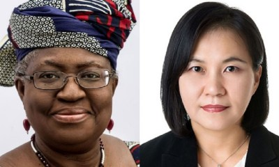 WTO DG: US, EU divided over Nigeria's Okonjo-Iweala and South Korea's Yoo