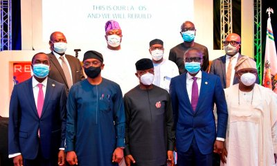 #EndSARS: Bankers' Committee, Private sector lead Lagos rebuilding team to raise trust fund