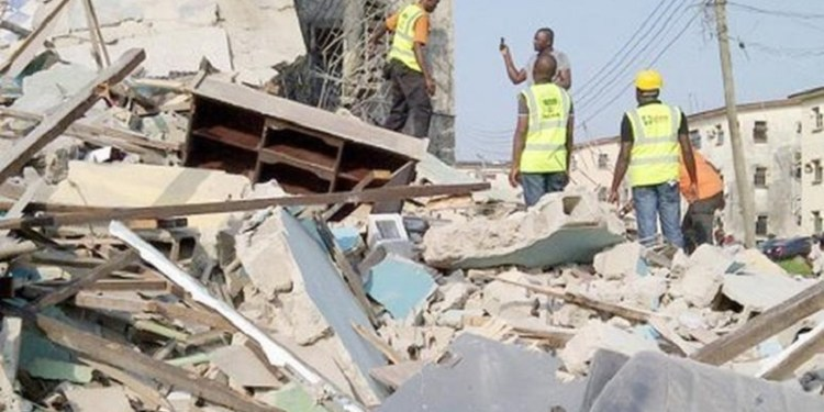 Another building collapses in Lagos killing the owner
