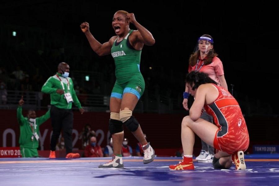 Tokyo Olympics: Blessing Oborududu wins a silver medal in wrestling |  Nairametrics