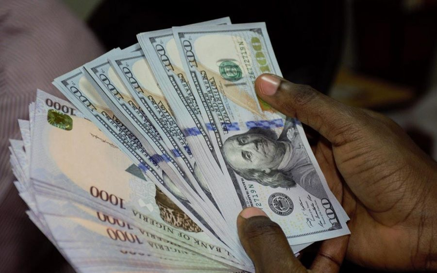 Exchange rate falls at official market as dollar supply drops significantly