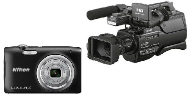 Digital and Video Cameras