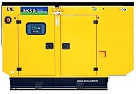 Perkins soundproof diesel generator