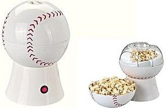 Household baseball popcorn machine
