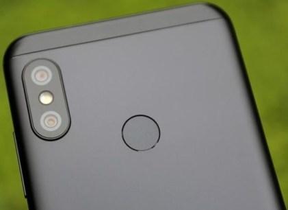 Xiaomi redmi 6 pro camera