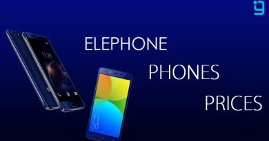 Elephone Phones Features
