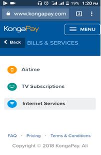 Kongapay app 9