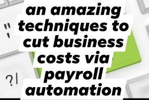 amazing techniques to cut business