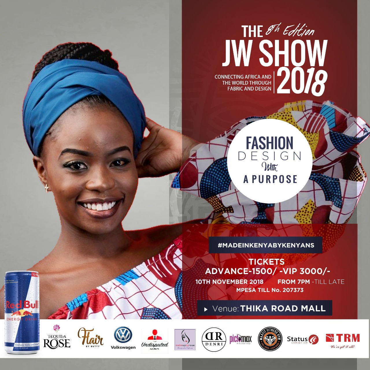 THE 8TH EDITION OF THE JW SHOW 2018 WITH A STYLE- STUDDED FASHION SHOW