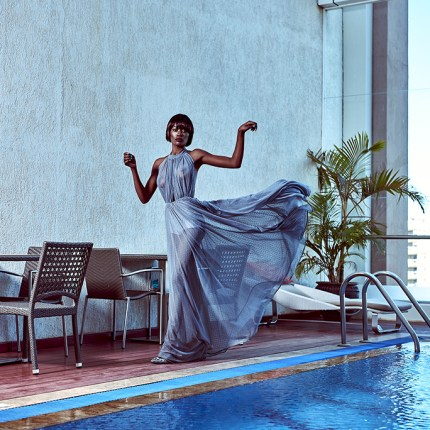 CelebrityFashion Designer Aulgah Nato From Kenya