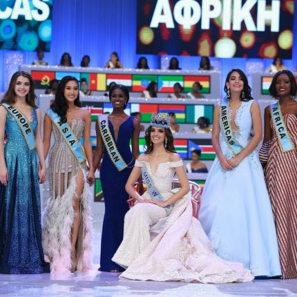 "Quiin Abenakyo wins ""Miss World Africa"" title at Miss World 2018"