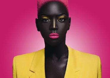 Sudanese Model Nyakim Gatwech Enters Guinness Book Of Records For Having The Darkest Skin Tone On Earthe